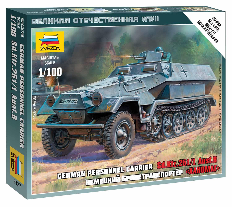 Náhľad produktu - 1:100 Sd.Kfz.251/1 Ausf.B