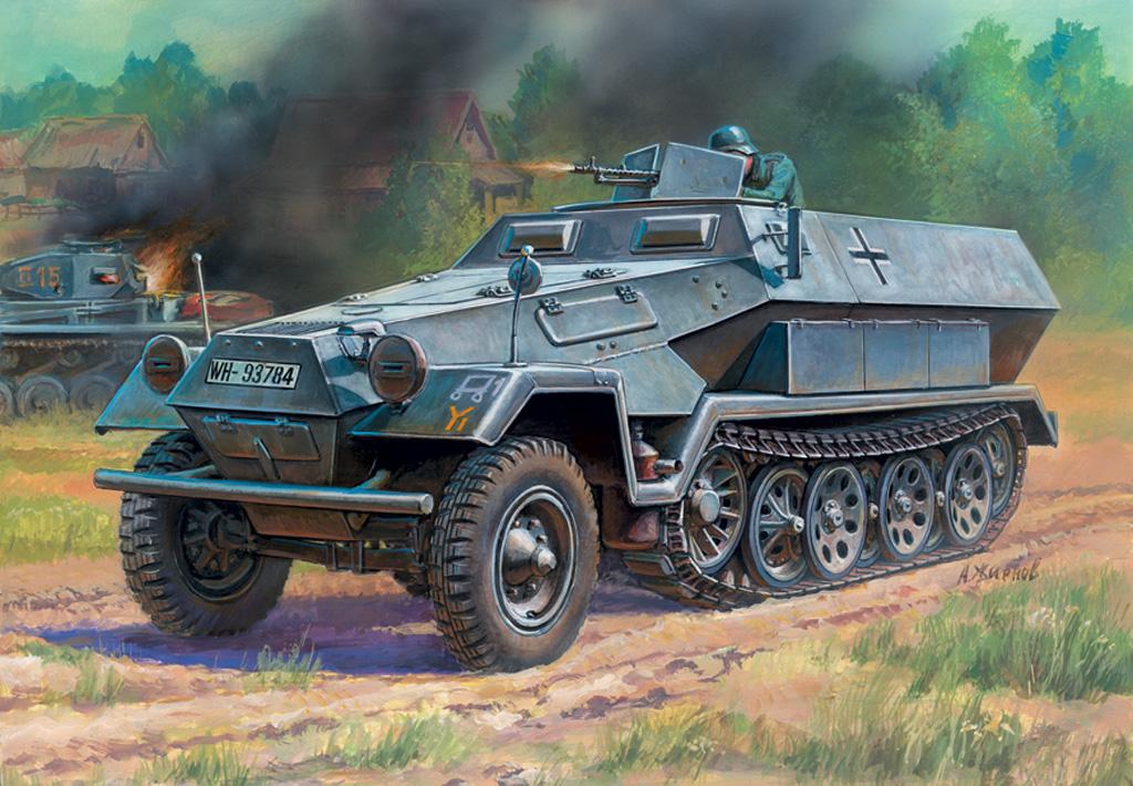 1:100 Sd.Kfz.251/1 Ausf.B