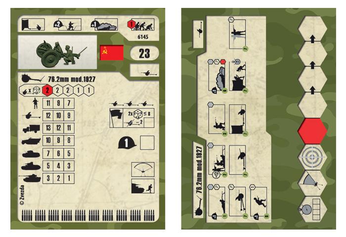 1:72 Sovietska húfnica 76 mm s posádkou