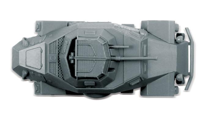 Zvezda Easy Kit Sd.Kfz.222 Armored Car (1:100)