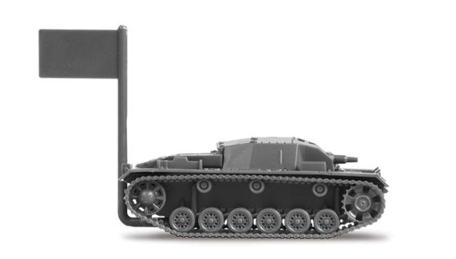 Zvezda Easy Kit Sturmgeschütz III Ausf.B (1:100)