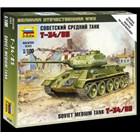 Wargames (WWII) tank 6160 - Soviet Medium Tank T-34/85 (1:100)