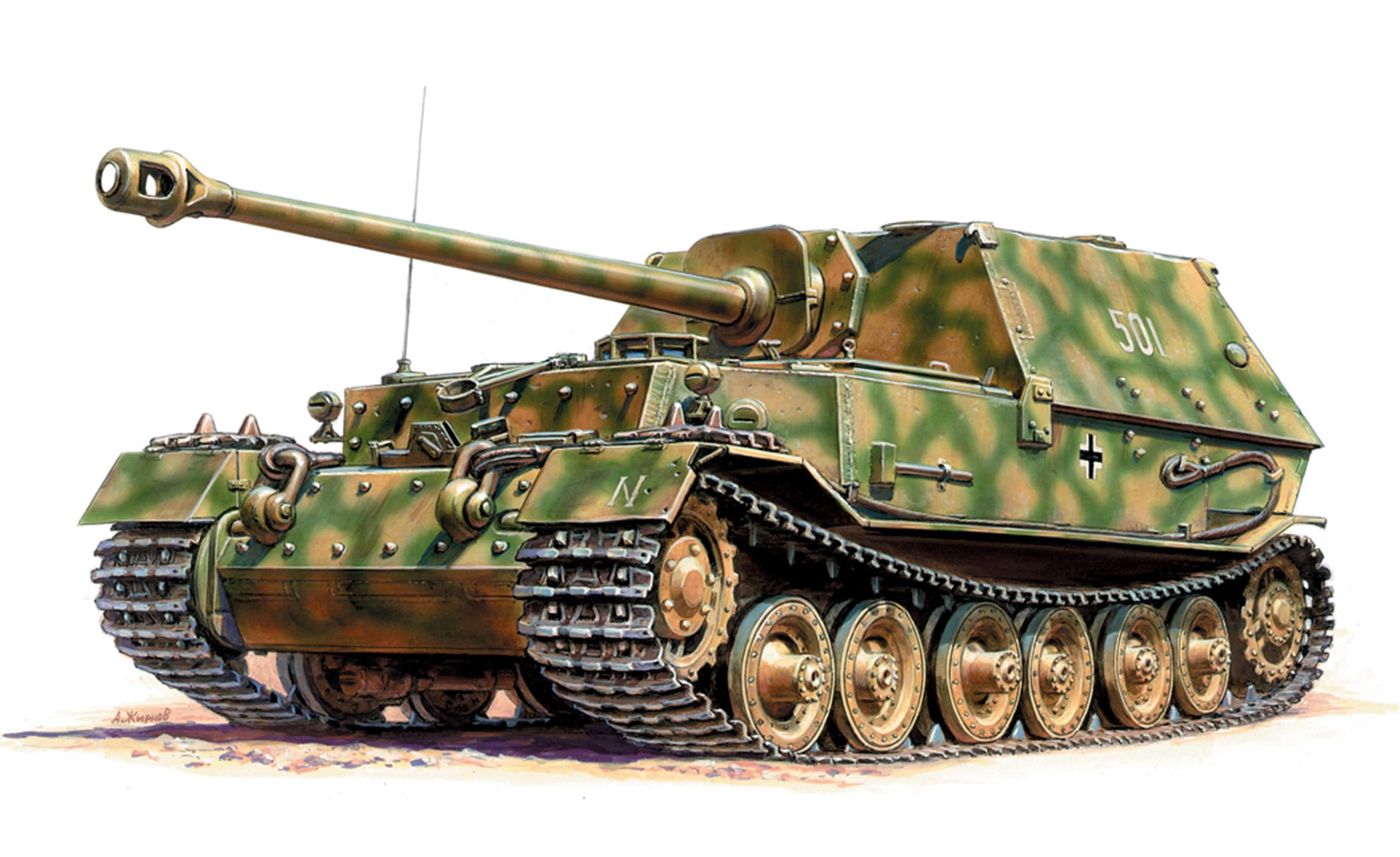 1:100 German Tank Destroyer FERDINAND