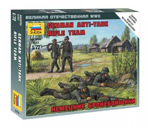 1:72 German Anti Tank Rifle Team (WWII)