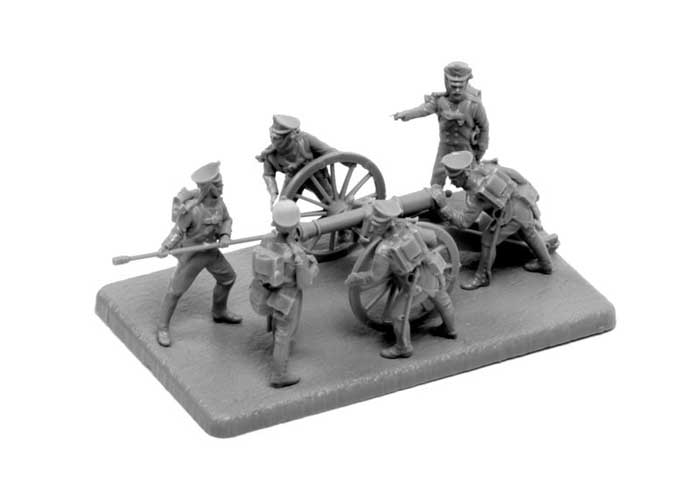 1:72 Russian foot artillery 1812-1814 (SNAP FIT)