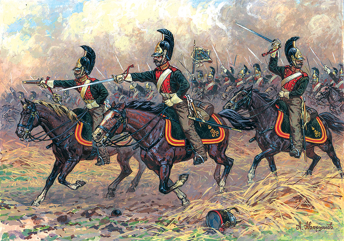 1:72 Russian Dragoons 1812-1814