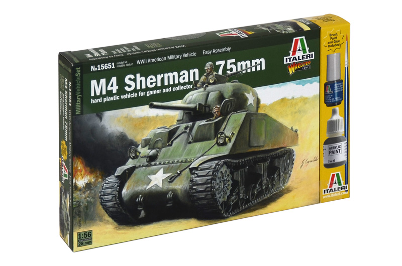 1:56 M4 Sherman w/ 75mm Gun