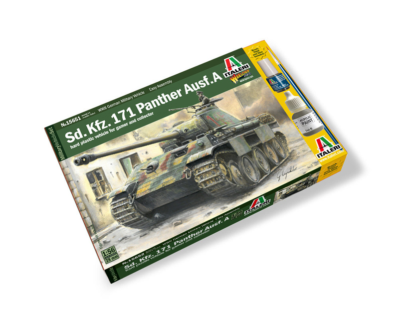 1:56 Sd.Kfz.171 Panther Ausf.A