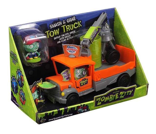 Zombie Zity - Tow Truck